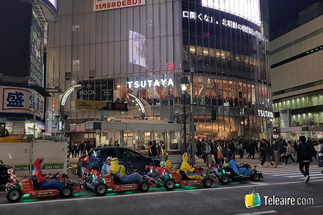 por las calles de tokio