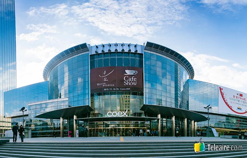 centro comercial subterráneo más grande de Seúl