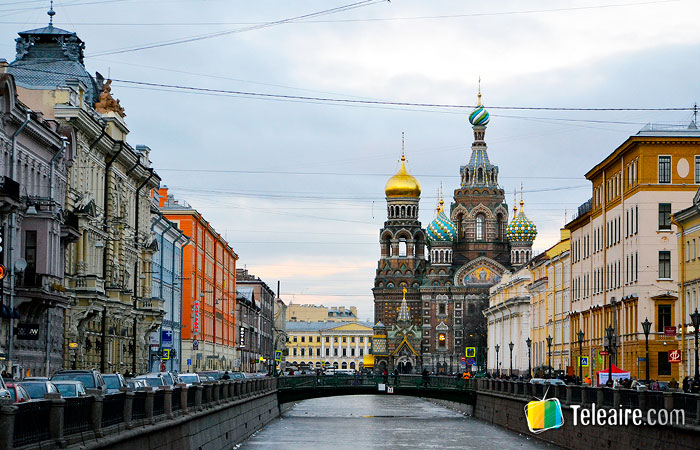 San Petersburgo es otra de las sedes del Mundial de Fútbol Rusia 2018