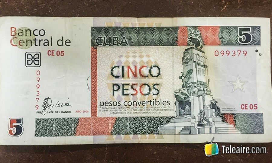 f39dfa3f8b Las 3 monedas cubanas - Teleaire Multimedia