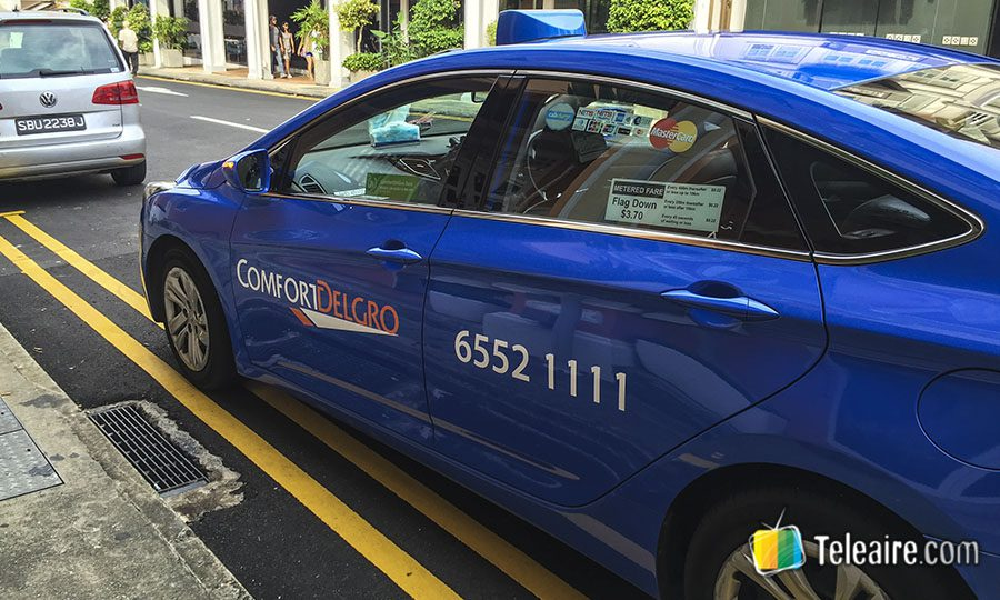 Singapur ofrece diferentes taxis