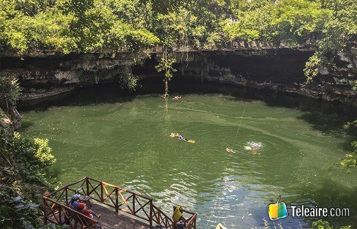 xenote en Yucatán, México