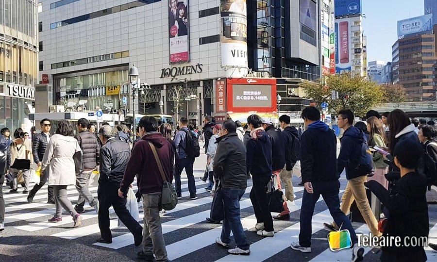 SHibuya Scramble en Tokio