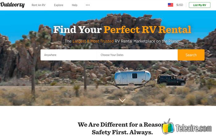 Outdoorsy Camping Car