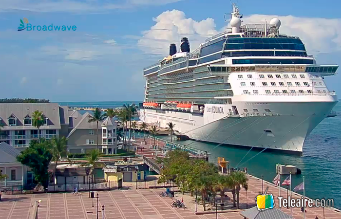 Webcam desde Key West en Florida, Estados Unidos