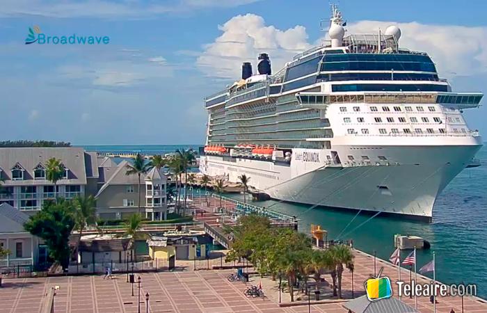Webcam desde Key West en Florida, Estados Unidos