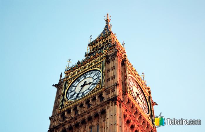 Reloj Big Ben de Londres en Inglaterra