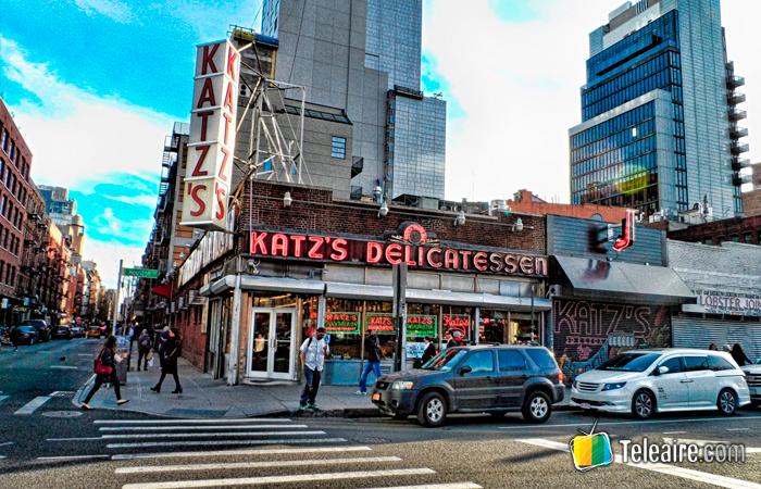 El Katz's delicatessen aparece en Cuando Harry conoció a Sally