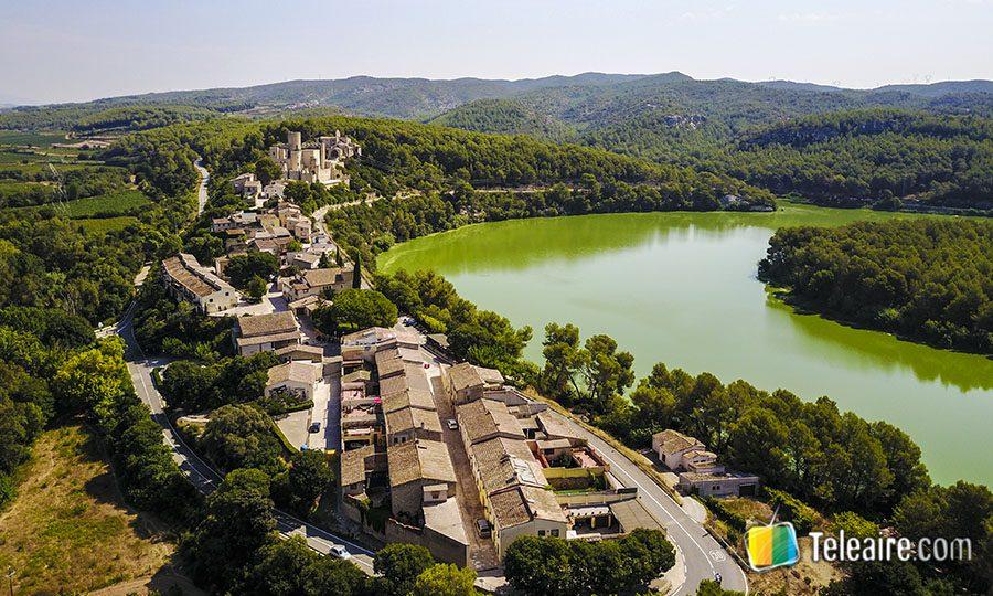 Castellet i La Gornal aerea-Penedes
