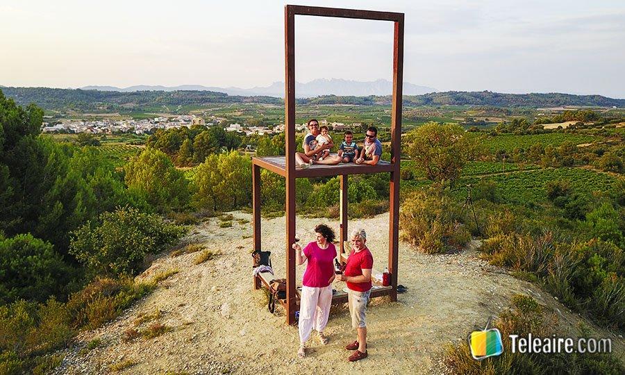 Mirador La Cadira del proyecto miraviñas