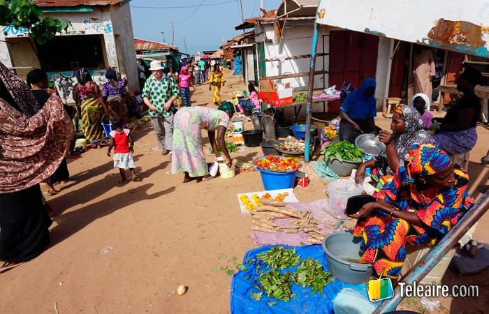 Mercado de Gambia