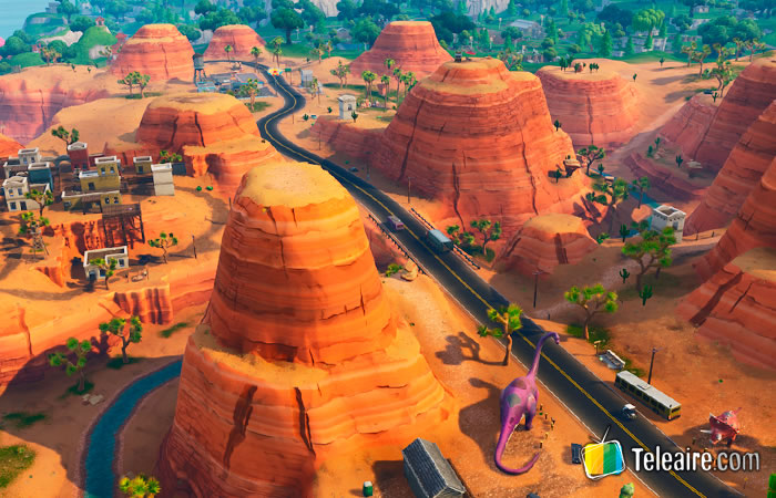 Cañón del Colorado en Fortnite