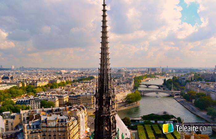 Aguja de la Catedral de Notre Dame de París
