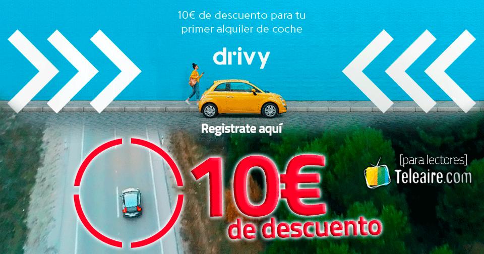 10 euros de descuento en Drivy