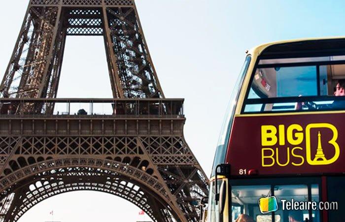 Recorrer París en autobús turístico