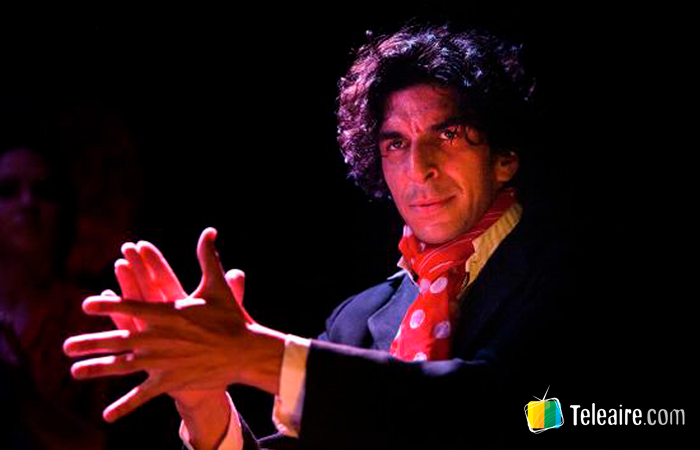 Kelián Jiménez en el Tablado Flamenco Cardamomo Madrid