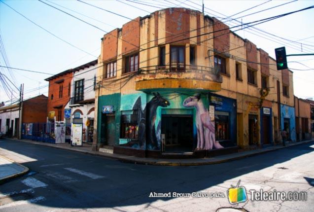 Muralismo en las calles de Cochabamba, Bolivia