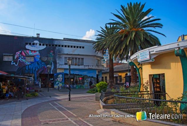 Calles del centro de Cochabamba, en Bolivia