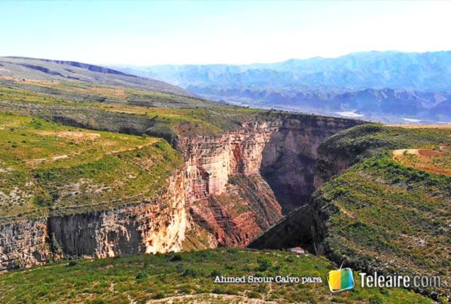 Cañón El Vergel en Bolivia