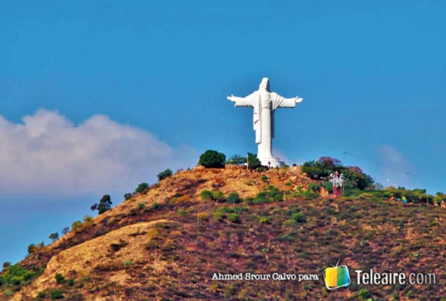 Cristo de la Concordia en Cochabamba, Bolivia
