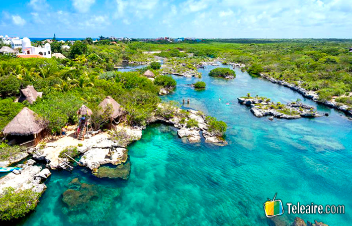 Laguna Paradise en Akunal, Quintana Roo