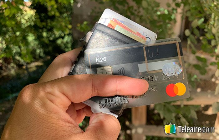 Tarjeta para viajeros Mastercard N26