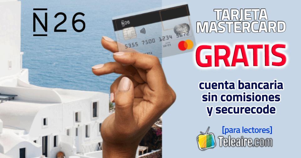 Tarjeta Mastercard N26