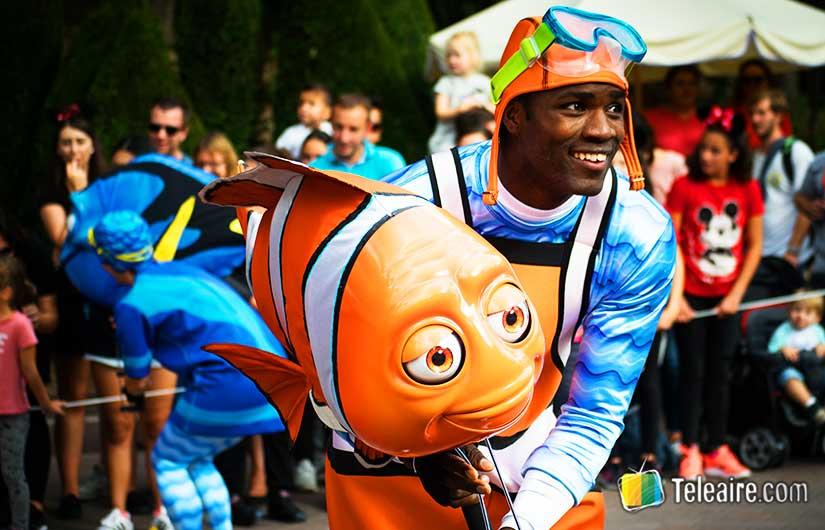 Eurodisney: desfile con Nemo