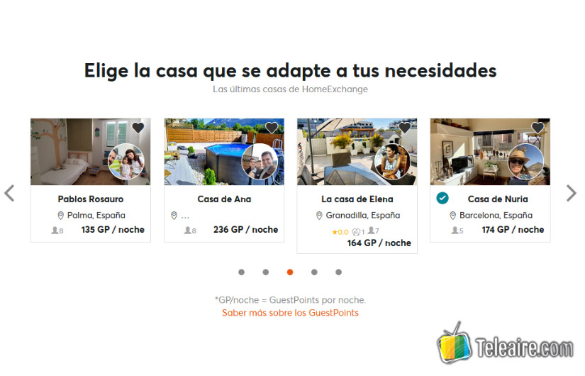Intercambio de casas con Home Exchange