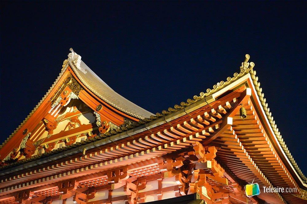 Qué visitar en Tokio: templo Sensoji
