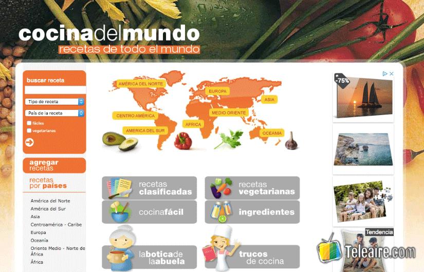 Visitas virtuales con Cocina del Mundo