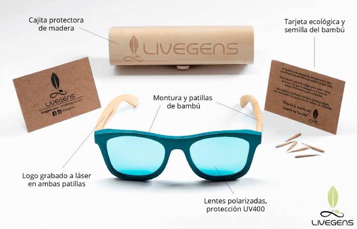 Gafas de sol ecológicas