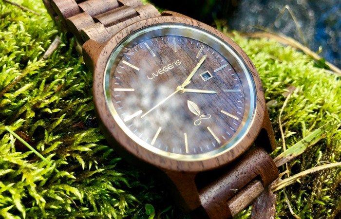 Relojes ecológicos de madera Livegens