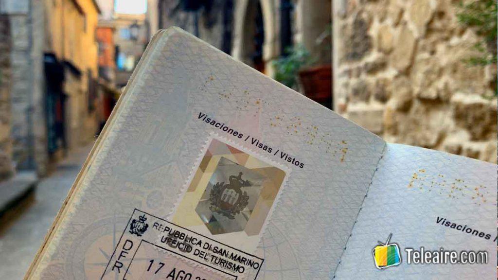 Sello turístico de San Marino Turismo