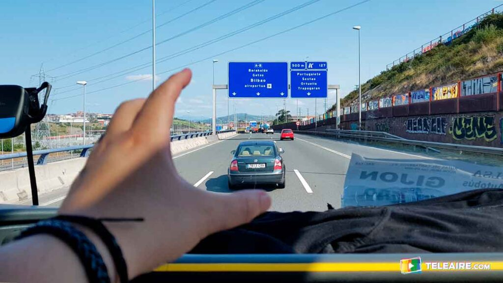 Disfrutando recorrer España en autobús