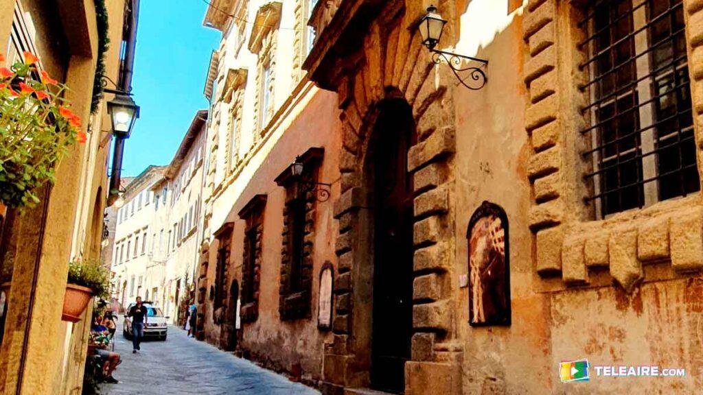 Fachadas de Volterra