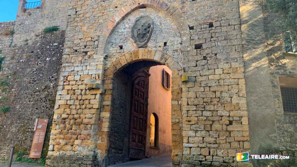 Puerta Etrusca de Volterra