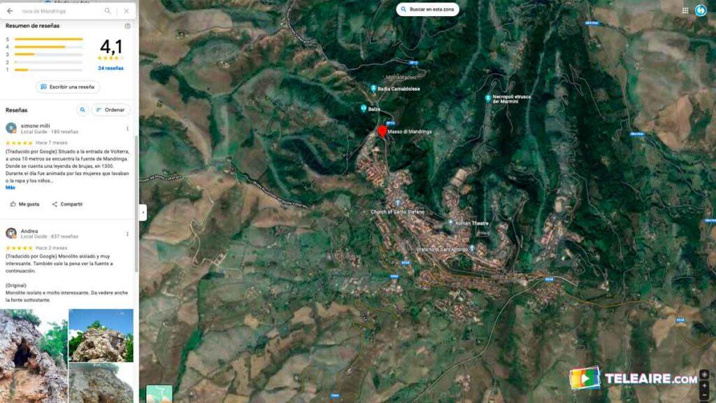 Roca de Mandringa en Volterra
