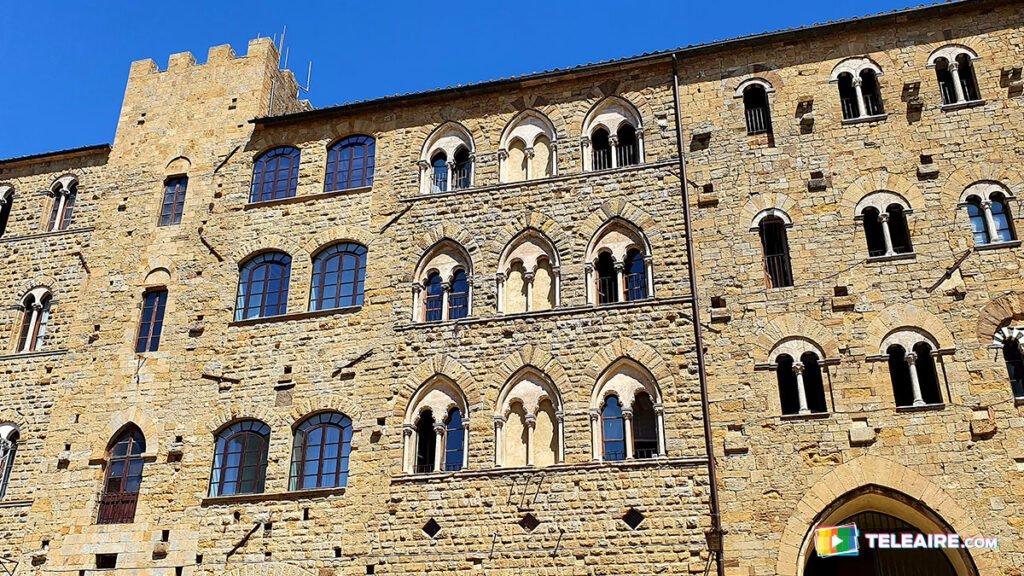 Piazza dei Priori en Volterra