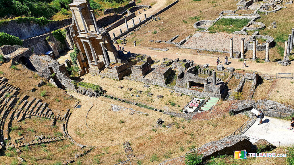 Ruinas Romanas en Volterra